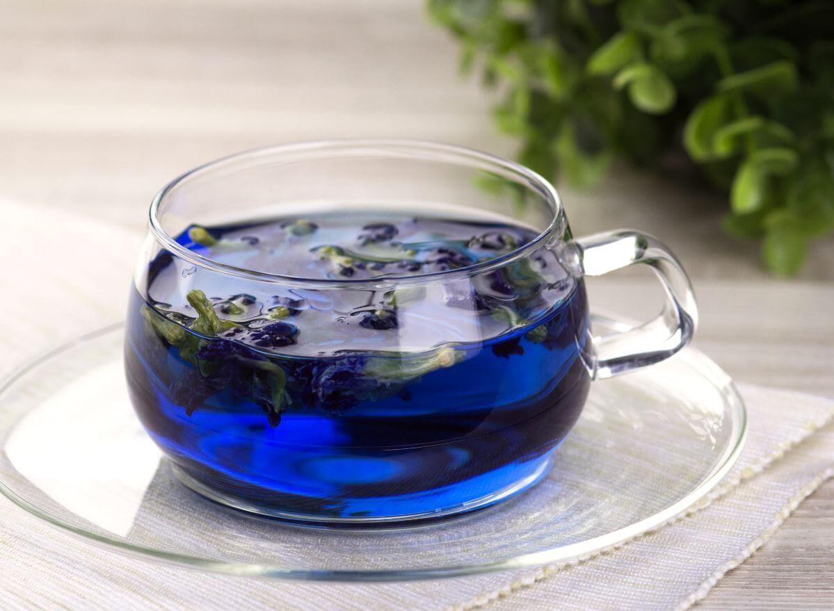 Синий чай. Свойства, как заваривать и пить синий чай