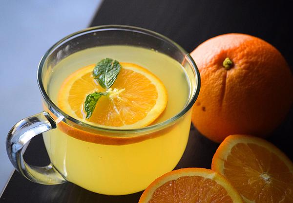 Чай из свежих апельсиновых корок