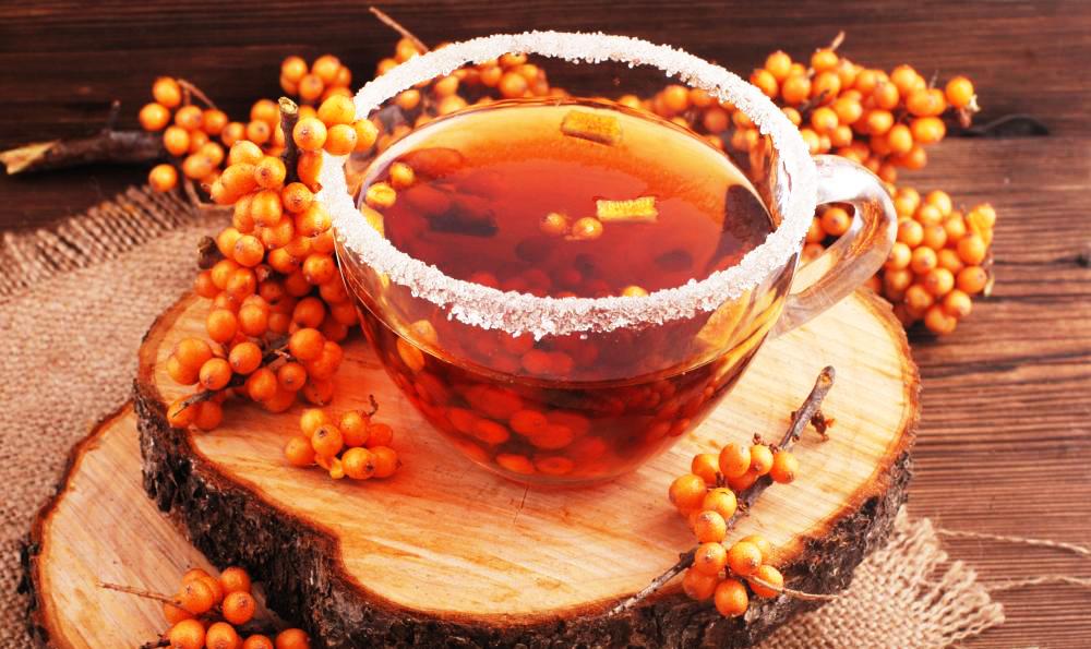 как заваривать облепиховый чай из замороженной
